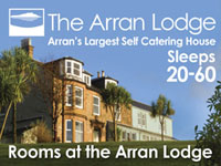 Arran Lodge sleeps 20-60 people